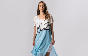Многослойные платья Несрин Кримеды